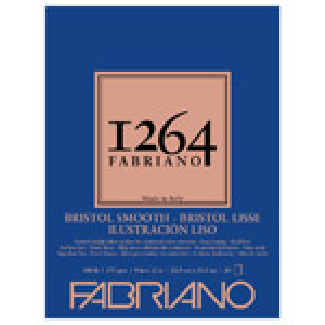 "Fabriano 1264 Bristol Smooth Pad 9"" x 12"""