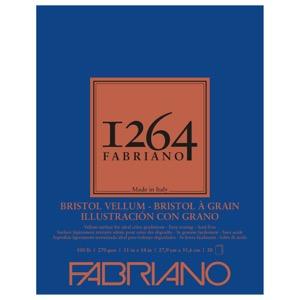 "Fabriano 1264 Bristol Vellum Pad 11"" x 14"""