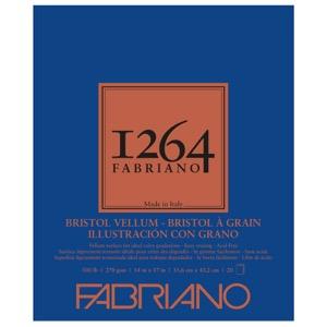 "Fabriano 1264 Bristol Vellum Pad 14"" x 17"""