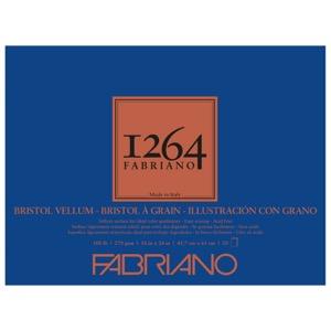 "Fabriano 1264 Bristol Vellum Pad 18"" x 24"""