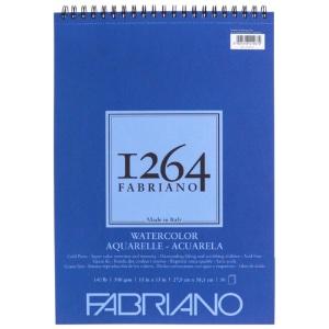 "Fabriano 1264 Spiral-Bound Watercolor Pad 11"" x 15"""