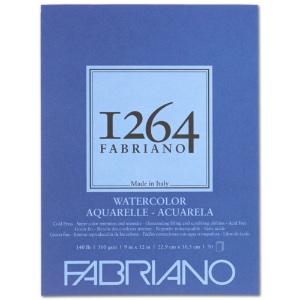 """Fabriano 1264 Watercolor Pad 9"""" x 12"""""""