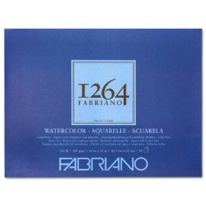 """Fabriano 1264 Watercolor Pad 18"""" x 24"""""""