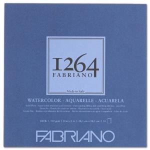 """Fabriano 1264 Watercolor Pad 8"""" x 8"""""""