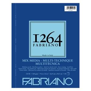 """Fabriano 1264 Mix Media Pad 9"""" x 12"""""""