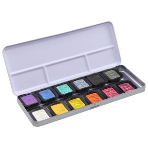 Finetec Pearlescent Pans 12-Color Set