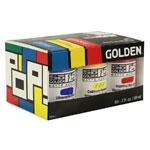 Golden SoFlat Matte Acrylic Pop 6-Color Set