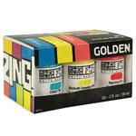 Golden SoFlat Matte Acrylic Zing 6-Color Set