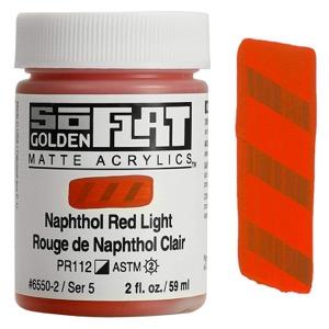 GOLDEN SOFLAT 2oz NAPH RED LIGHT