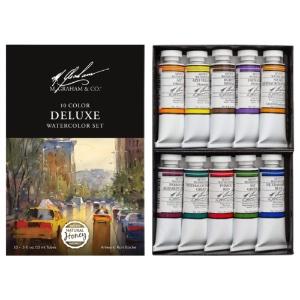 M. Graham Watercolor Deluxe 10 Color Set