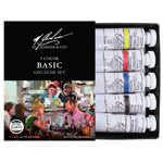 M. Graham Gouache 5 Color Basic Set