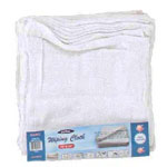 """White Terry Cloth 12"""" x 12"""" 12pk"""