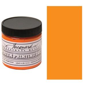 Screen Printing Ink 4oz - Orange
