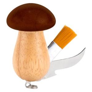 Mushroom Tool Keychain