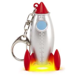 Rocket LED Keychain