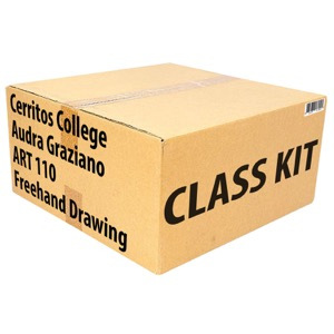 Class Kit: Cerritos College Graziano ART110 Freehand Drawing