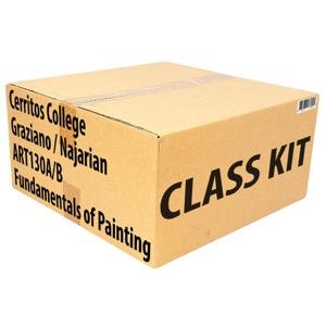 Class Kit: Cerritos College Graziano / Najarian ART130A/B Fund Painting