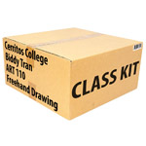 Class Kit: Cerritos College Tran ART110 Freehand Drawing
