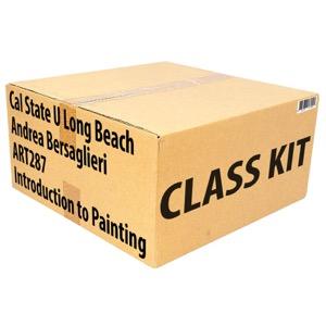 Class Kit: CSU Long Beach Bersaglieri ART287 Intro to Painting