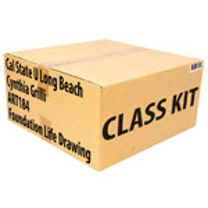Class Kit: CSU Long Beach Grilli ART184 Foundation Life Drawing