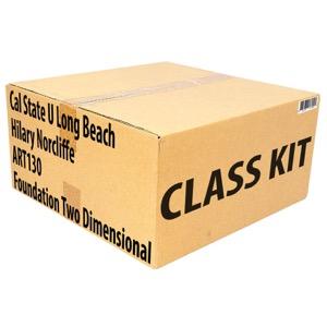 Class Kit: CSU Long Beach Norcliffe ART130 Foundation 2D