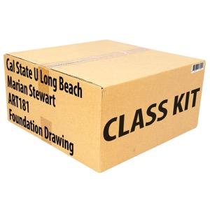 Class Kit: CSU Long Beach Stewart ART181 Foundation Drawing