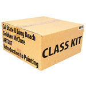 Class Kit: CSU Long Beach McClure ART287 Intro to Painting