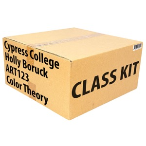 Class Kit: Cypress College Boruck ART123 Color Theory