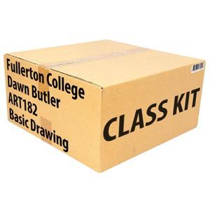 Class Kit: Fullerton College Butler ART182 Basic Drawing