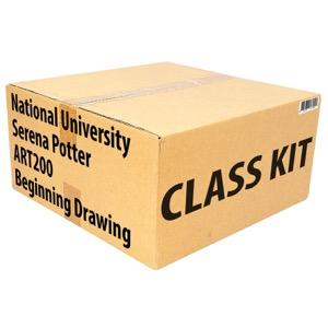 Class Kit: National University Potter ART200 Beginning Drawing