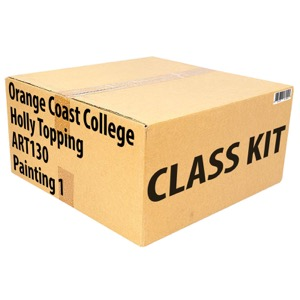 Class Kit: Orange Coast College Topping ART130 Painting 1