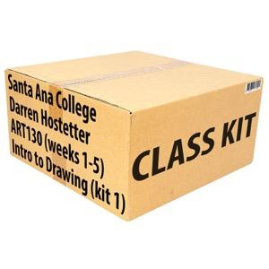 Class Kit: Santa Ana College ART130 Intro to Drawing (Week 1)