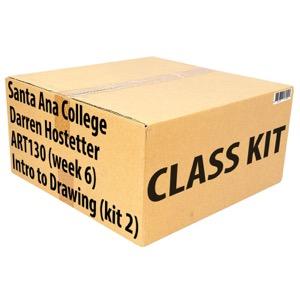Class Kit: Santa Ana College ART130 Intro to Drawing (Week 6)