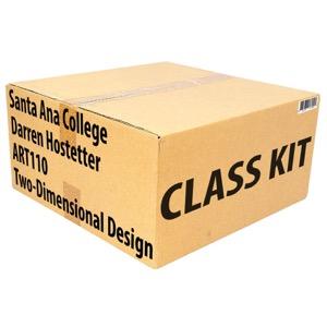 Class Kit: Santa Ana College ART110 Two Dimensional Design
