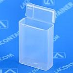 Flex-A-Top Plastic Box with Split Lid