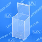 Flex-A-Top Vertical Plastic Box with Hinged Lid