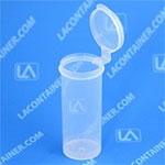 Lavials Hinged-Lid Lab Vial 1.5oz