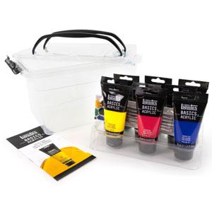 Liquitex BASICS Acrylic Paint - Starter Box