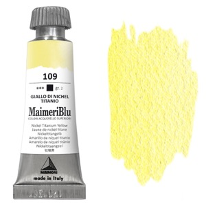 MaimeriBlu Watercolor 12ml Nickel Titanium Yellow