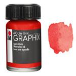 Marabu Graphix Aqua Ink 0.5oz Vermilion