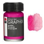 Marabu Graphix Aqua Ink 0.5oz Magenta