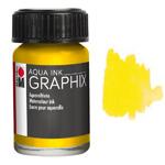 Marabu Graphix Aqua Ink 0.5oz Lemon