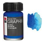 Marabu Graphix Aqua Ink 0.5oz Dark Ultramarine