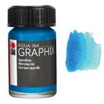Marabu Graphix Aqua Ink 0.5oz Cyan