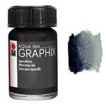 Marabu Graphix Aqua Ink 0.5oz Black