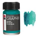 Marabu Graphix Aqua Ink 0.5oz Petrol