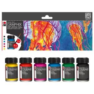 Graphix Aqua Ink Mc Floaty 6-set