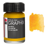 Marabu Graphix Aqua Ink 0.5oz Sunshine Yellow