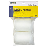 """Woven Fabric Roller Cover 3"""" Wide (3/8"""" Nap) 2-Pack"""