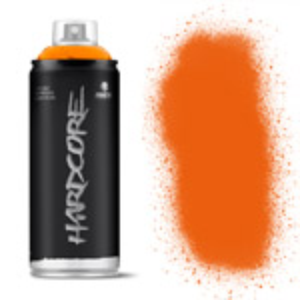 MTN Hardcore Spray Paint 400ml Orange